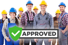 find local approved Northumberland trades